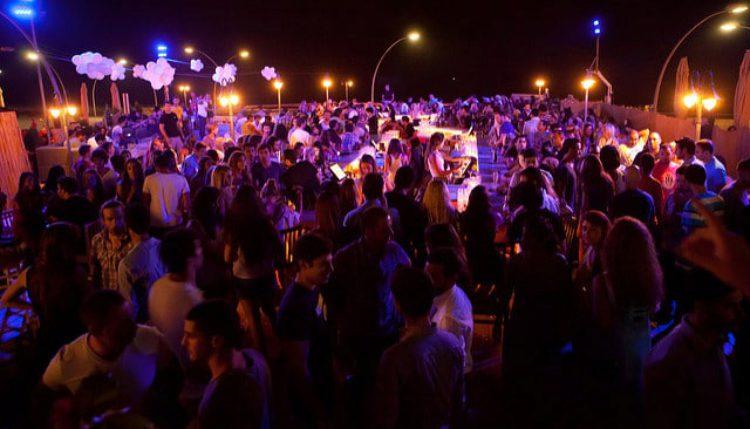Ночная жизнь в Яффо, Тель-Авив, Израиль