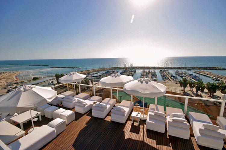 Место отдыха в отеле, Тель-Авив, Израиль