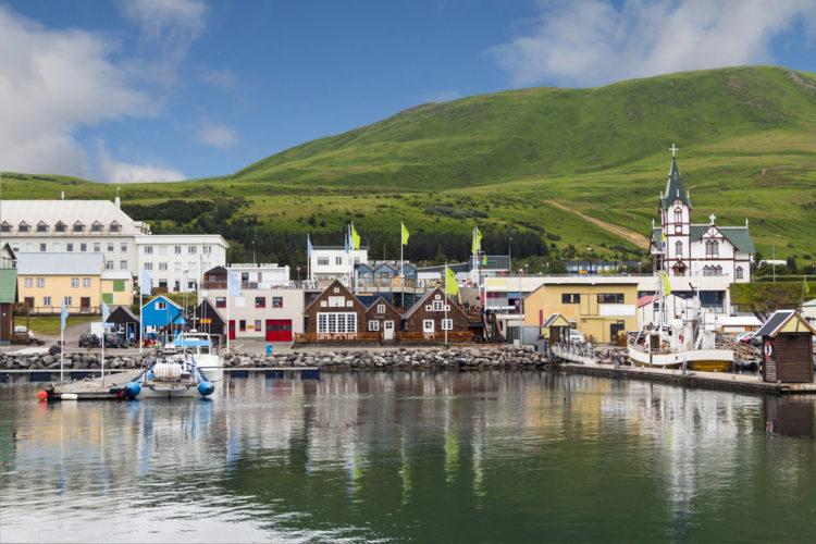 Хусавик - достопримечательности Исландии