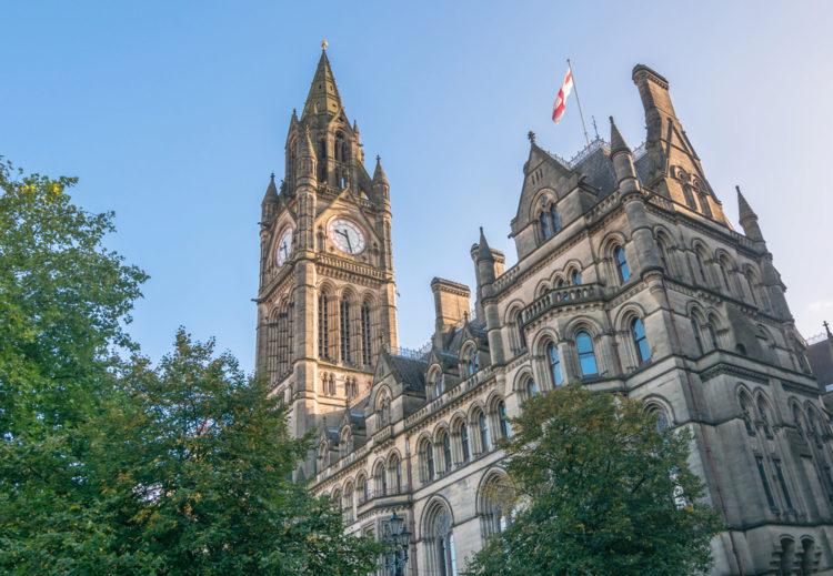 Манчестерская ратуша - достопримечательности Манчестера