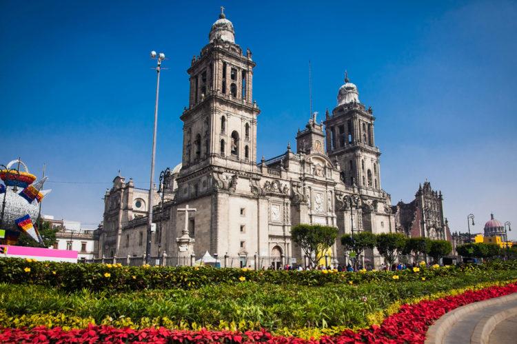 Кафедральный собор Мехико - достопримечательности Мексики