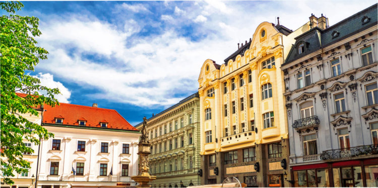 Старый город Братиславы - достопримечательности Словакии