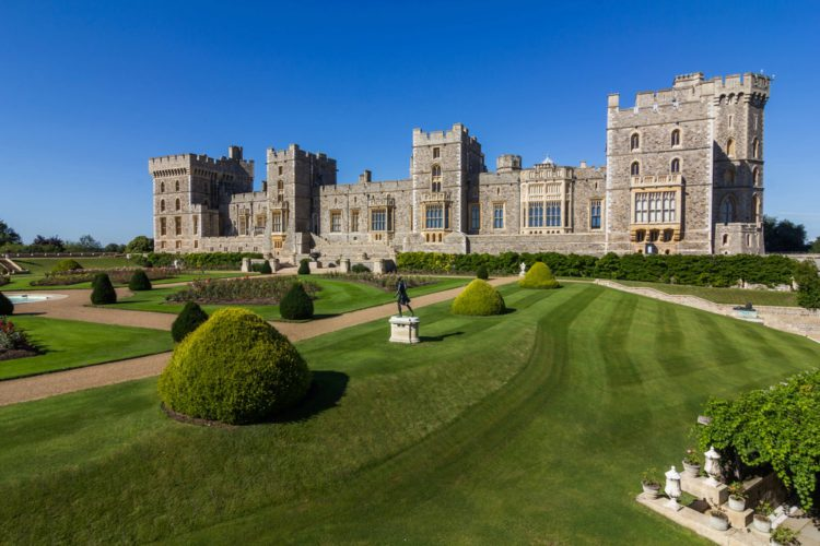 Виндзорский замок - достопримечательности в Англии