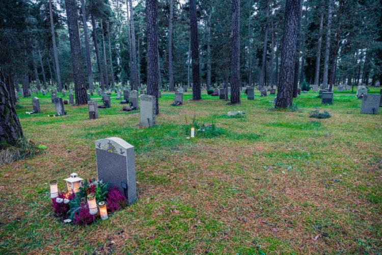 Лесное кладбище Скугсчюркогорден - достопримечательности Швеции