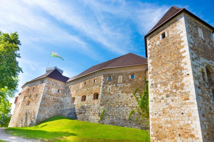Люблянский замок - достопримечательности Словении