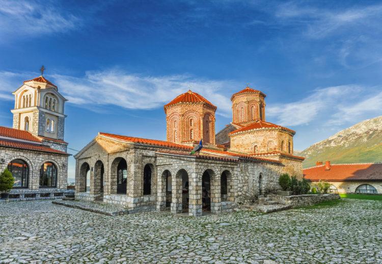 Монастырь Святого Наума - достопримечательности Македонии