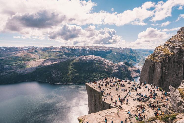 Прекестулен - достопримечательности Норвегии