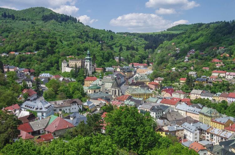 Город Банска-Штьявница - достопримечательности Словакии