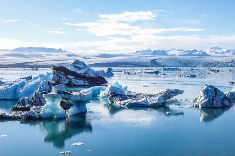 Лагуна Йокульсарлон - достопримечательности Исландии