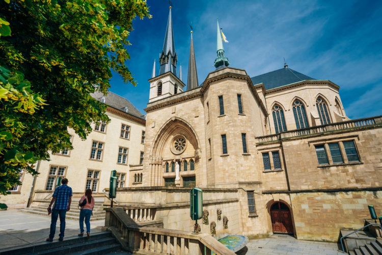 Собор Люксембургской Богоматери - достопримечательности Люксенбурга