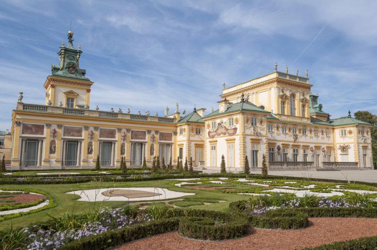 Вилянувский дворец - достопримечательности Польши
