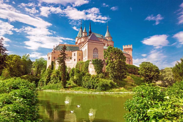 Бойницкий замок - достопримечательности Словакии