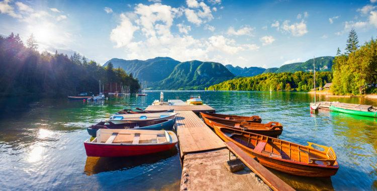 Бохиньское озеро - достопримечательности Словении