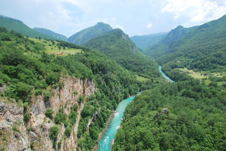 Каньон реки Тара - достопримечательности Черногории