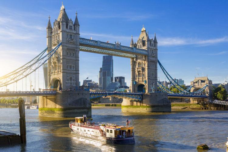 Тауэрский мост - достопримечательности Англии