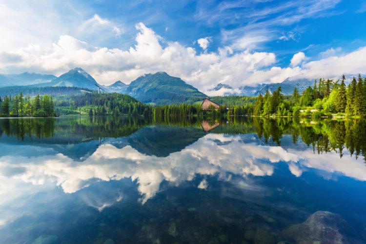 Национальный парк Татры - достопримечательности Словакии
