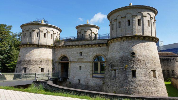 Крепость «Три жёлудя» - достопримечательности Люксембурга