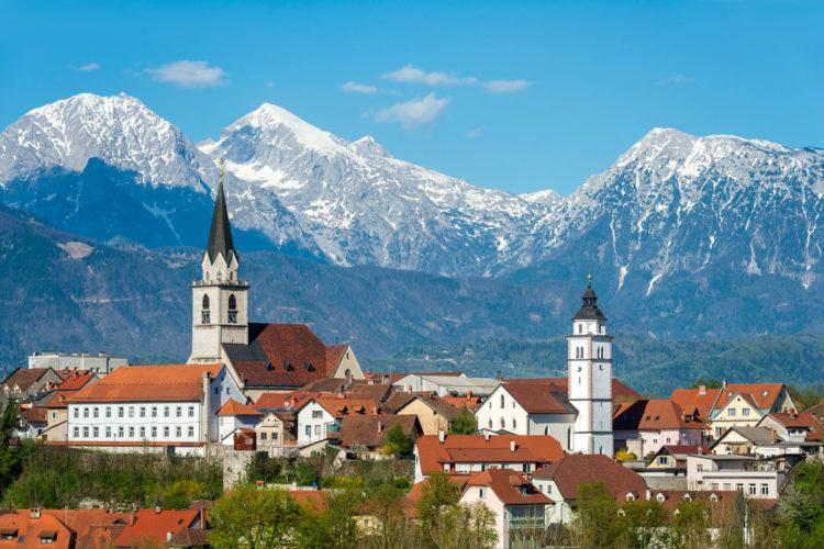 Город Крань - достопримечательности Словении