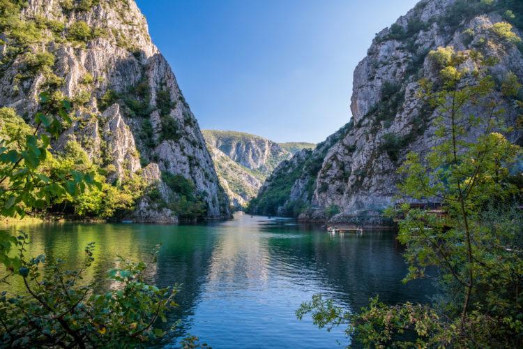 Каньон Матка - достопримечательности Македонии