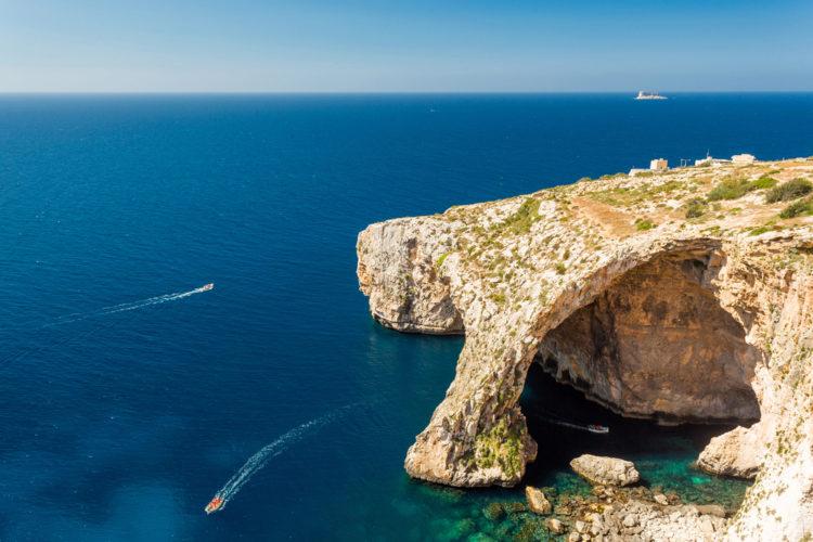 Голубой грот - достопримечательности Мальты