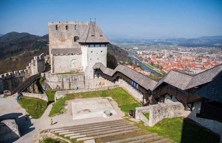 Цельский замок - достопримечательности Словении