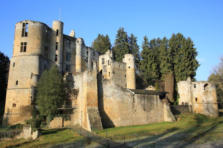 Замок Бофор - достопримечательности Люксембурга