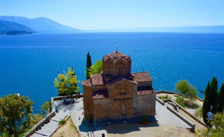 Храм Святого Иоанна Канео - достопримечательности Македонии