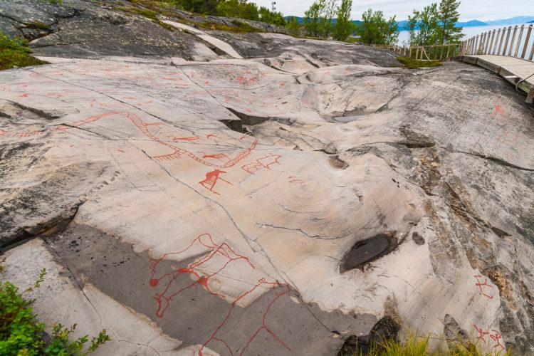 Наскальные рисунки в Альте - Что посмотреть в Норвегии