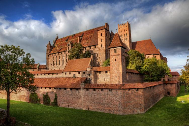 Замок Мариенбург - достопримечательности Польши