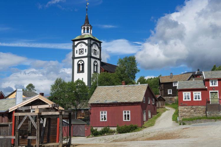 Рёрус - достопримечательности Норвегии