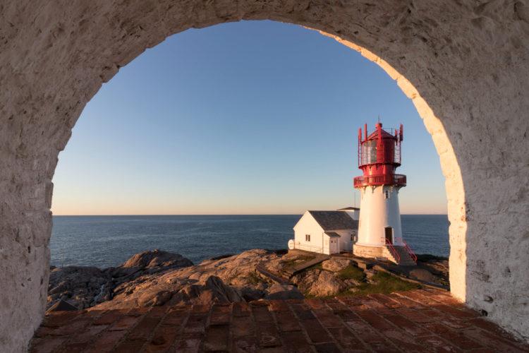 Маяк Линдеснес - Что посмотреть в Норвегии
