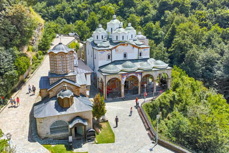 Осоговский монастырь - достопримечательности Македонии