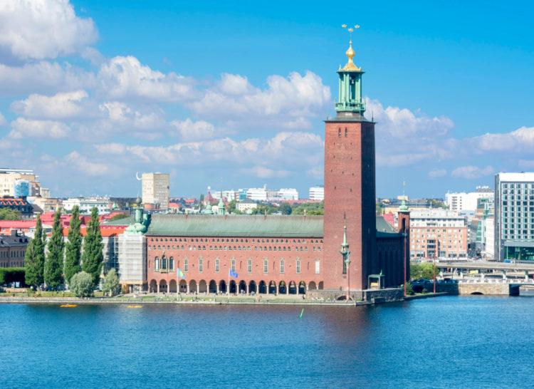 Стокгольмская ратуша - достопримечательности Швеции