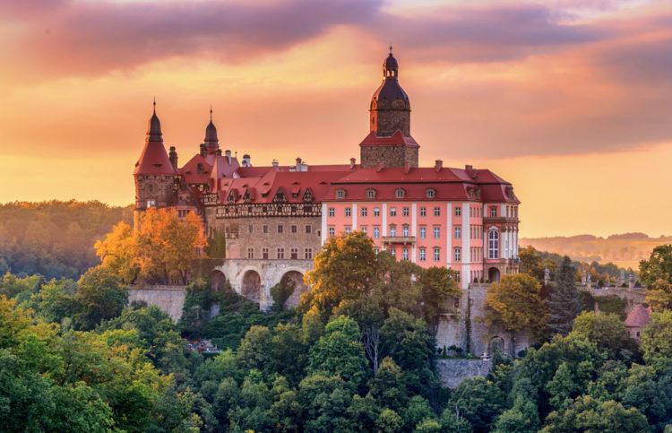 Замок Ксёнж - достопримечательности Польши