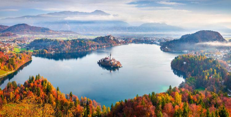 Бледское озеро - достопримечательности Словении