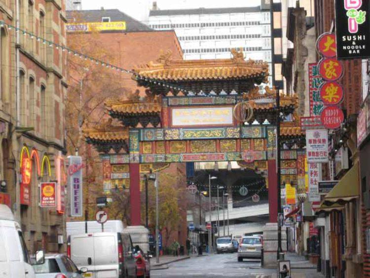 Китайский квартал - достопримечательности Манчестера