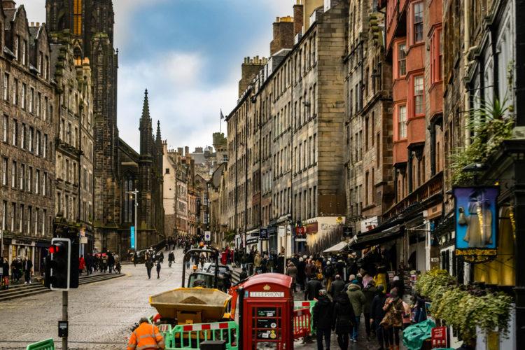 Королевская Миля в Эдинбурге - достопримечательности Шотландии