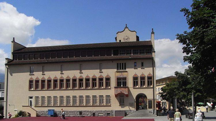 Ратуша Вадуца - достопримечательности Лихтенштейна