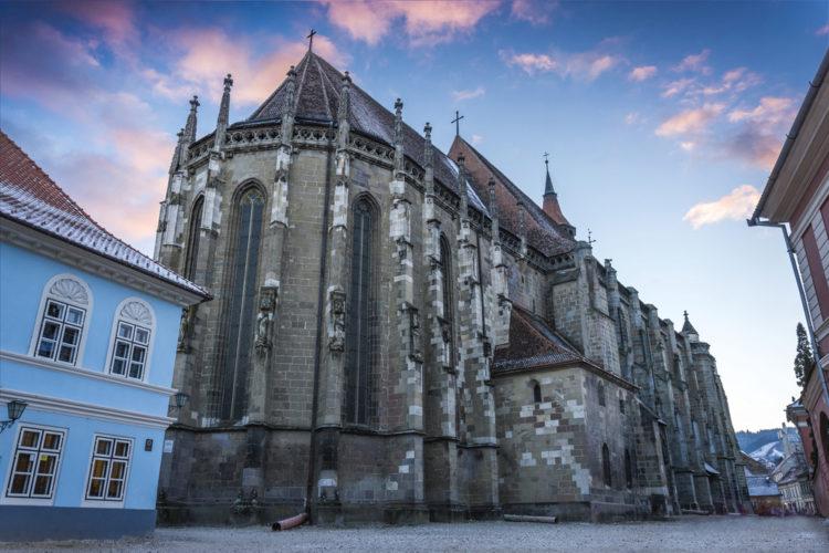 Чёрная церковь (Брашов) - достопримечательности Румынии