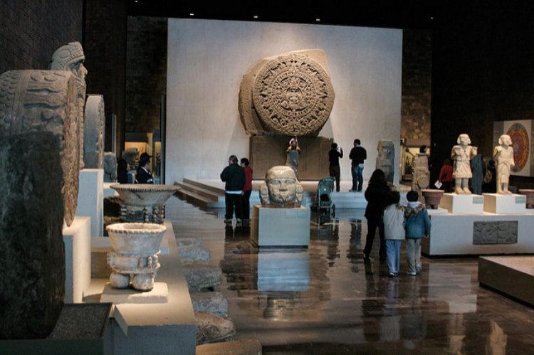 Национальный музей антропологии - достопримечательности Мексики