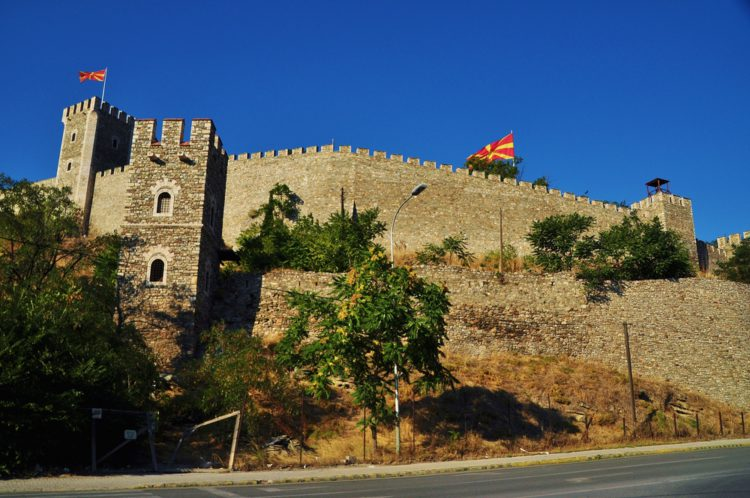 Крепость Скопье - достопримечательности Македонии