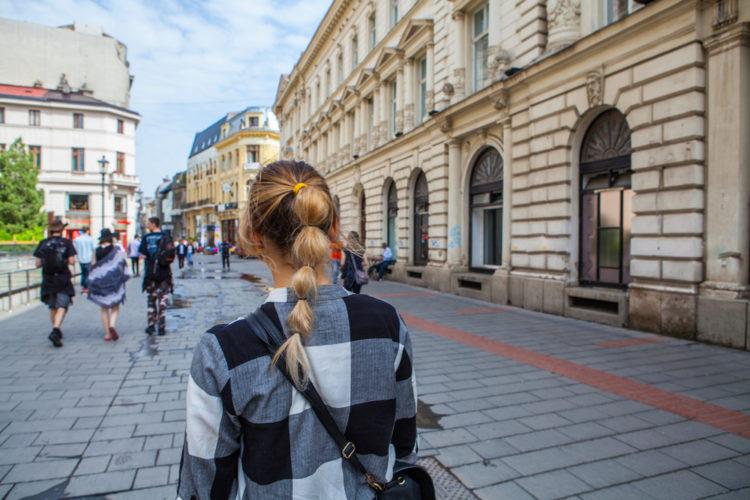 Улица Липскань - достопримечательности Румынии