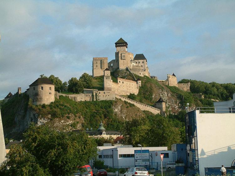 Тренчьянский Град - достопримечательности Словакии