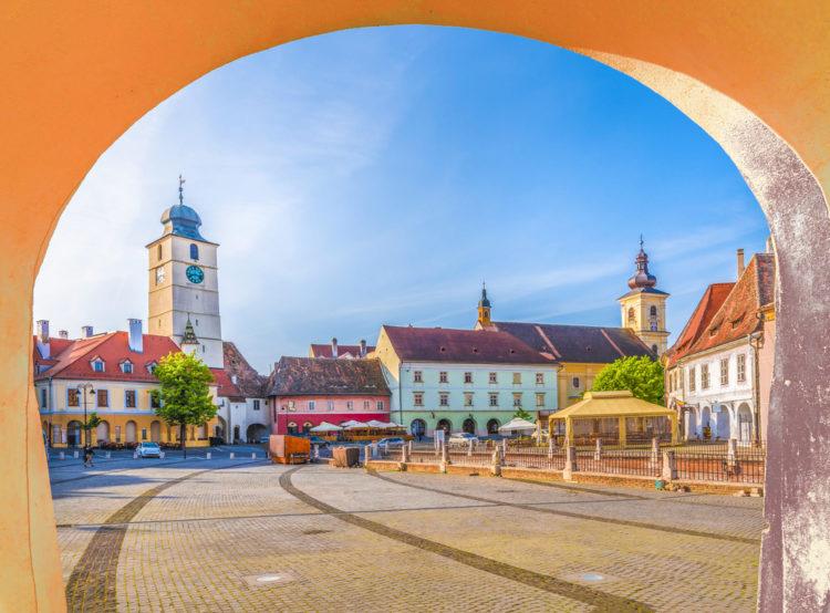 Исторический центр города Сибиу - достопримечательности Румынии