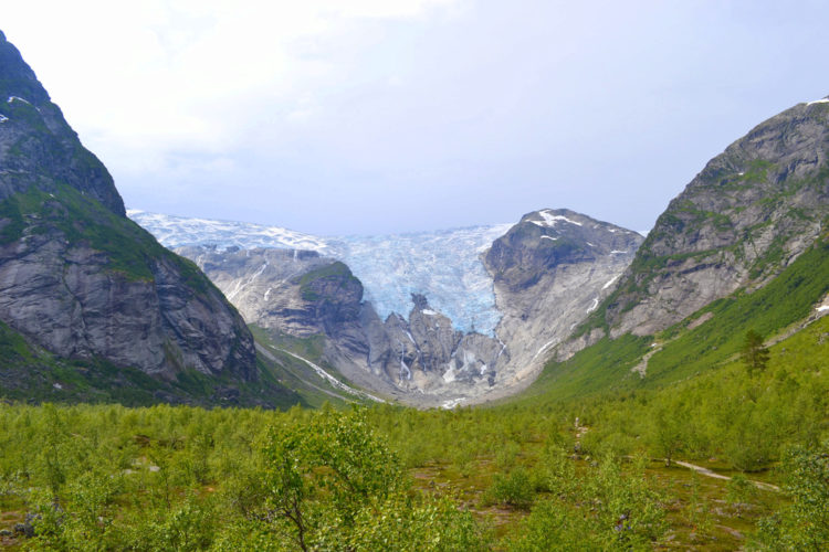 Юстедальсбреен - достопримечательности Норвегии