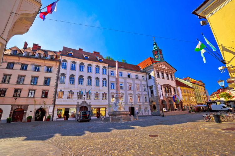 Старый город Любляны - достопримечательности Словении