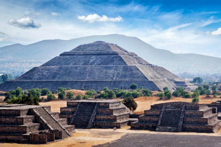 Пирамиды Теотиуакан - достопримечательности Мексики