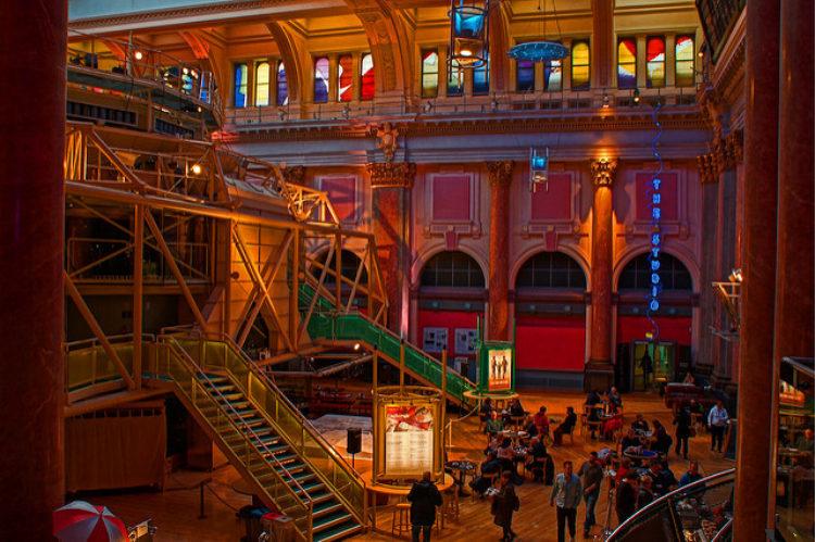 Театр королевской Биржи - достопримечательности Манчестера