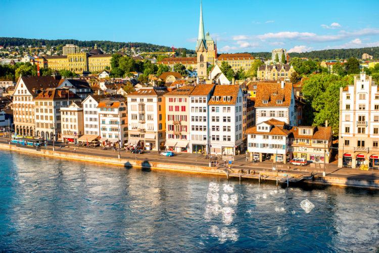Старый город (Цюрих) - достопримечательности Швейцарии