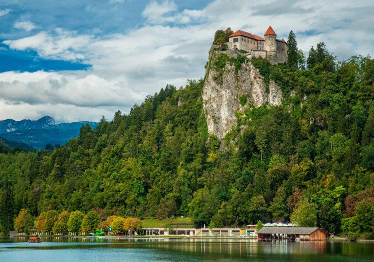 Бледский замок - достопримечательности Словении